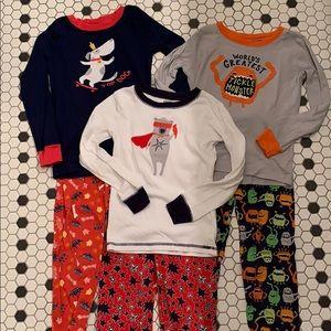 GYMBOREE Cotton Gymmie Pajamas Boys 7 Sleep Pants